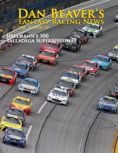 TALLADEGA, AL - MAY 01: Chase Elliott, driver of the #24 NAPA Auto Parts Chevrolet, leads the field during the NASCAR Sprint Cup Series GEICO 500 at Talladega Superspeedway on May 1, 2016 in Talladega, Alabama. (Photo by Sean Gardner/Getty Images)
