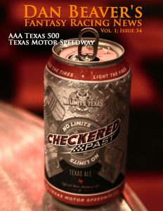 DALLAS, TEXAS - MARCH 30: The new Checkered Past beer is unveiled during the Texas Motor Speedway Media Day at Gilley's Dallas on March 30, 2016 in Dallas, Texas. (Photo by Sarah Crabill/Getty Images for Texas Motor Speedway)
