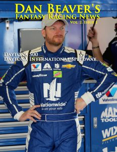 DAYTONA BEACH, FL - FEBRUARY 18:  Dale Earnhardt Jr., driver of the #88 Nationwide Chevrolet, stands in the garage during practice for the Monster Energy NASCAR Cup Series 59th Annual DAYTONA 500 at Daytona International Speedway on February 18, 2017 in Daytona Beach, Florida.  (Photo by Jerry Markland/Getty Images)