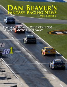 HAMPTON, GA - FEBRUARY 28: Martin Truex Jr, driver of the #78 Furniture Row Toyota, leads a pack of cars down pit road during the NASCAR Sprint Cup Series Folds of Honor QuikTrip 500 at Atlanta Motor Speedway on February 28, 2016 in Hampton, Georgia. (Photo by Matt Hazlett/Getty Images)