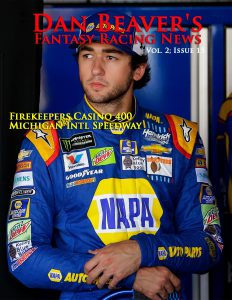 DOVER, DE - JUNE 02:  Chase Elliott, driver of the #24 NAPA Chevrolet, stands in the garage area during practice for the Monster Energy NASCAR Cup Series AAA 400 Drive for Autism at Dover International Speedway on June 2, 2017 in Dover, Delaware.  (Photo by Chris Trotman/Getty Images)